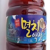 멸치액젓 멸치액젓갈 1.8L 복이네 젓갈 토굴4~7년 숙성 포항 죽도시장